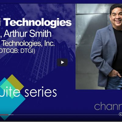 C-Suite Interview with Digerati Technologies (DTGI) CEO Arthur Smith